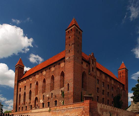 Krzyżacki zamek i pałac Marysieńki w Gniewie
