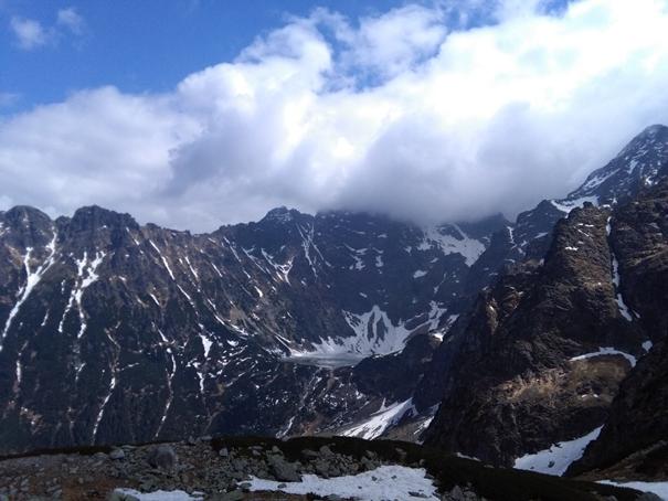 Morskie Oko w Wysokich Tatrach