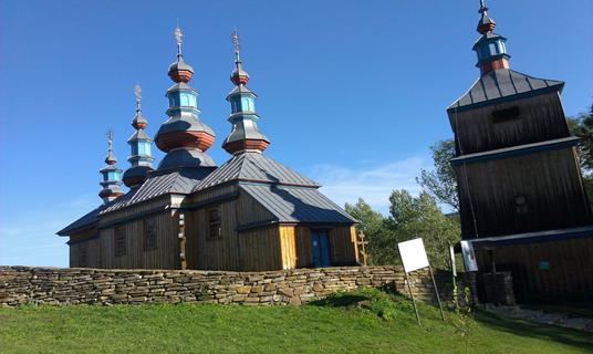 Bieszczady: Dolina Osławicy (Komańcza, Turzańsk, Rzepedź, Szczawne); śladami błogosławionego kardynała Wyszyńskiego