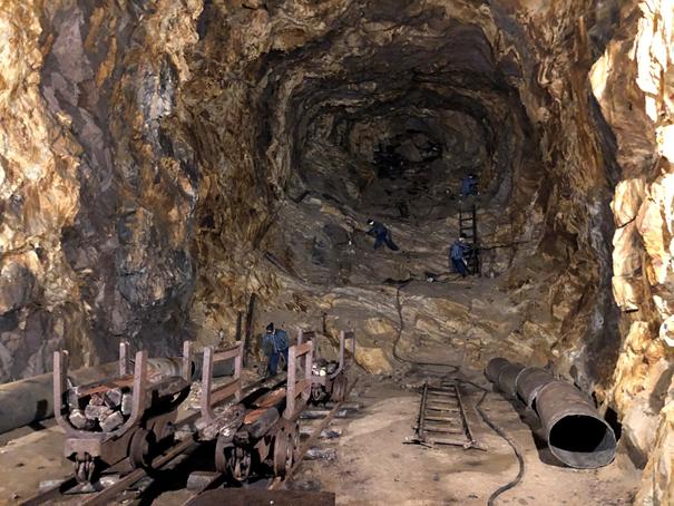 Podziemny Olbrzym w Górach Sowich