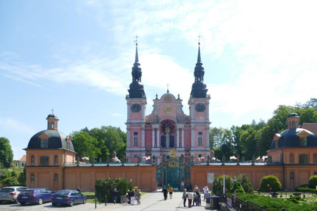 Barcja: barokowe Sanktuarium w Świętej Lipce