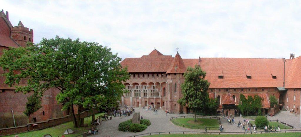 Zamek w Malborku – siedziba wielkich mistrzów i starostów królewskich